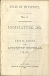 Annual Report of the Attorney General for 1860