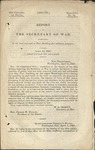 Report of the Secretary of War in Relation to the Land Reserved at Fort Snelling for Military Purposes by United States War Department