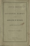 Message of the Governor of Minnesota to the Legislative Assembly [1862] by Minnesota Governor